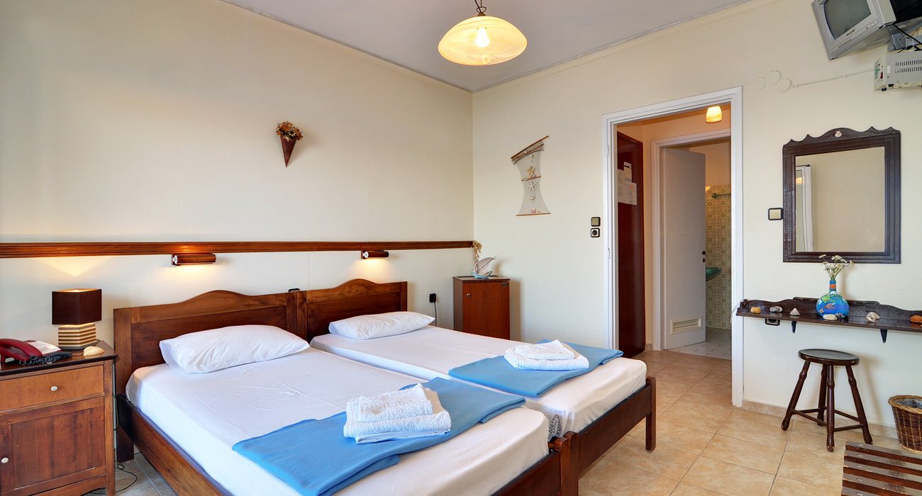 Cozy  and Comfortable Rooms - Maistrali Hotel Serifos