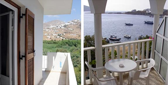 Maistrali Hotel Rooms in Serifos