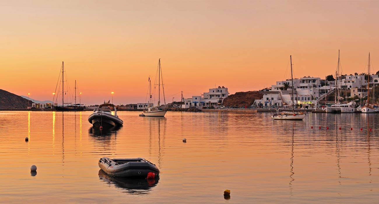 Enjoy the magnificent sunset in Serifos Greece